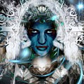The Ice Queen  by Daniel Arrhakis