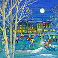 The Iceskaters by Stanley Cooke