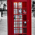 The Iconic London Phonebox by Martin Newman