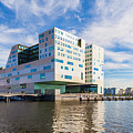 The Ij-dock In Amsterdam  by Werner Dieterich