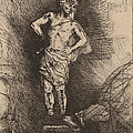 The Image Seen By Nebuchadnezzar by Rembrandt Van Rijn