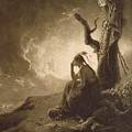 The Indian Widow by Joseph Wright of Derby