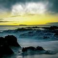 The Infinite Spirit  Tranquil Island Of Twilight Maui Hawaii  by Sharon Mau