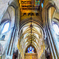 The Interior Of The Southwark Cathedral  by Steve Taylor