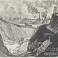 The Iron Mine by Joseph Pennell