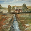 The Irrigation Canal by Edward Wolverton