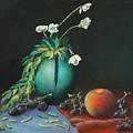 The Jade Vase And Jasmine by Bob Williams