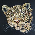 The Jaguar - Acrylic Painting by Cindy Treger