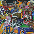 The Jazz Orchestra by Anthony Hurt