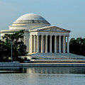 The Jefferson Memorial 2 by Ed Clark