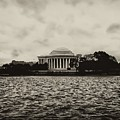 The Jefferson Memorial by Bill Cannon