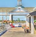 The Jekyll Wharf by Linda Covino