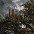 The Jewish Cemetery by Jacob Isaaksz Ruisdael
