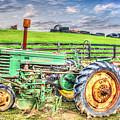 The John Deere Tractor by Judy Baird