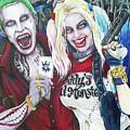 The Joker And Harley Quinn by Michael Vanderhoof