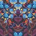 The Joy Of Design Mandala Series Puzzle 6 Arrangement 8 by Helena Tiainen