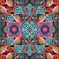 The Joy Of Design Mandala Series Puzzle 7 Arrangement 1 by Helena Tiainen