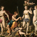 The Judgement Of Paris by Alessandro Turchi