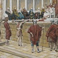 The Judgement On The Gabbatha by Tissot