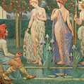 The Judgment Of Paris by Walter Crane