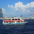 The Kaohsiung Harbor Ferry Crosses The Bay by Yali Shi