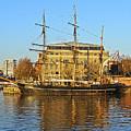 The Kaskelot In Bristol Dock by Terri Waters
