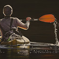 The Kayaker by Laurie Tietjen
