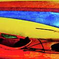 The Kayaks by Tara Turner