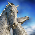 The Kelpies No.3 by Phill Thornton