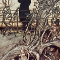 The Kensington Gardens Are In London Where The King Lives by Arthur Rackham