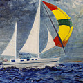 The Ketch by Irena Grant-Koch