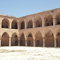 The Khan, Also Known As A Caravanserai, In Akko, Israel by Adam Gladstone
