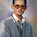 The King Bhumibol by Chonkhet Phanwichien