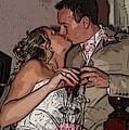 The Kiss by John Bradburn