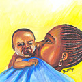 The Kiss Of A Mother In Senegal by Emmanuel Baliyanga
