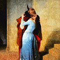 The Kiss Of Hayez Revisited by Leonardo Digenio