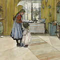 The Kitchen. From A Home by Carl Larsson