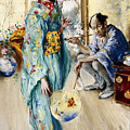 The Lady And Sada San by William Merritt Berger