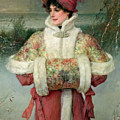 The Lady Of The Snows by George Henry Boughton