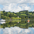 The Lake District Popular Beautiful Uk Holiday Destination Ullswater Cumbria North England by Michael Charles