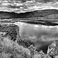 The Lake In Black And White by Tara Turner