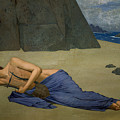 The Lamentation Of Orpheus by Alexandre Seon