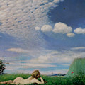 The Lark by Pal Szinyei Merse