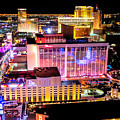 The Las Vegas Strip North by Anthony Sacco