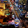 The Las Vegas Strip South by Anthony Sacco