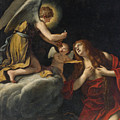 The Last Communion Of The Magdalene by Lucio Massari