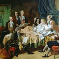 The Last Hours Of Mozart 1756-91 Henry Nelson Oneil by Eloisa Mannion