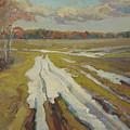 The Last Snow by Victor Onyshchenko