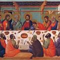 The Last Supper 1311 by Duccio