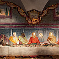 The Last Supper. Fresco In Church Santa Maria Del Carmine, Florence  by Svetlana Batalina